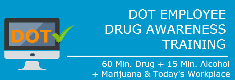 DOT Employee Drug Awareness Training